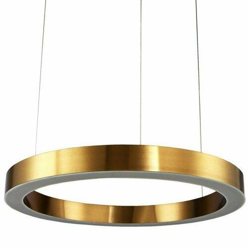 Függőlámpa CIRCLE 120 LED sárgaréz 120 cm