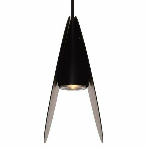 Függő lámpa PILLS L, fekete, 33 cm