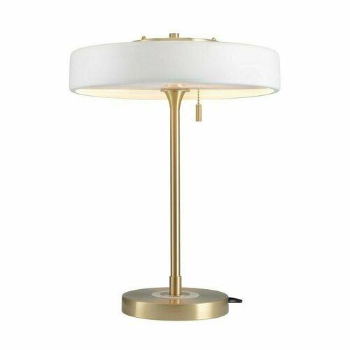 ARTDECO fehér és arany asztali lámpa