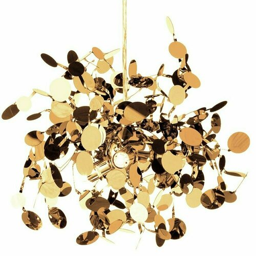 Függő lámpa MONETTI 40 cm arany