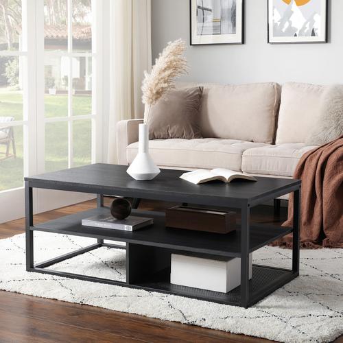Modern dohányzóasztal / fekete asztal LCT501B01