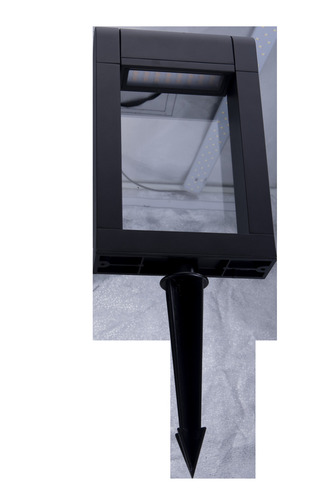 Kerti lámpa Azzardo FRAME SPIKE BK