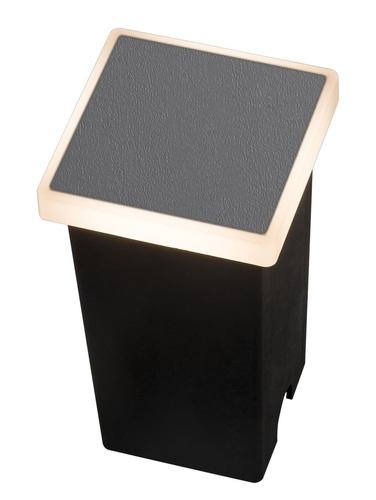 Kerti lámpa Azzardo ALF SQUARE 3000K DGR