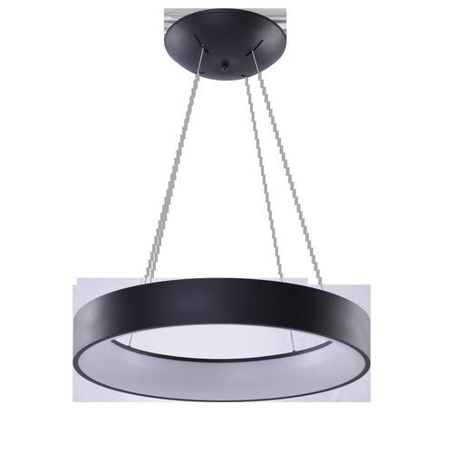 Függő lámpa Azzardo SOLVENT R 80 BK + TÁVIRÁNYÍTÓ