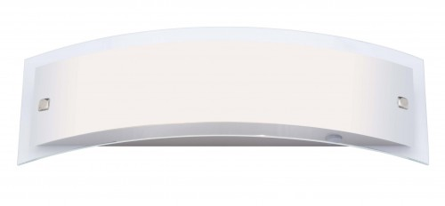 ELYSEE Szatén króm fali lámpa (400 mm)