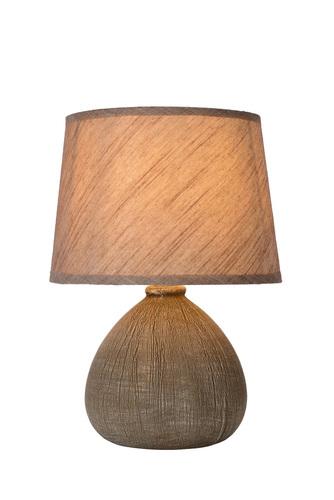 RAMSEY II barna asztali lámpa E27