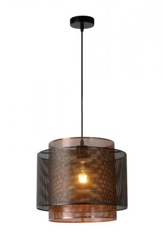 Függő lámpa ORIGIN fekete fém E27