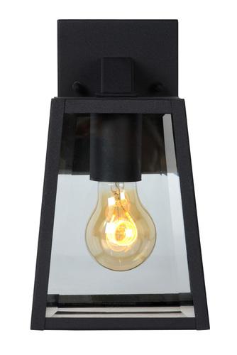 Külső fali lámpa MARSLOT fekete alumínium E27