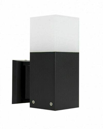 Kültéri fali lámpa CUBE CB-K BL