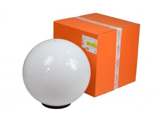 Kerti lámpa Luna labda 50 cm, kerti labda, ragyogó gömb, klasszikus stílusú, fehér