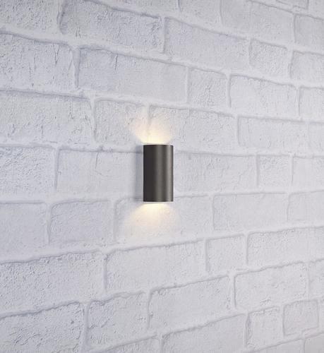 LYRA fali lámpa 2L sötétszürke