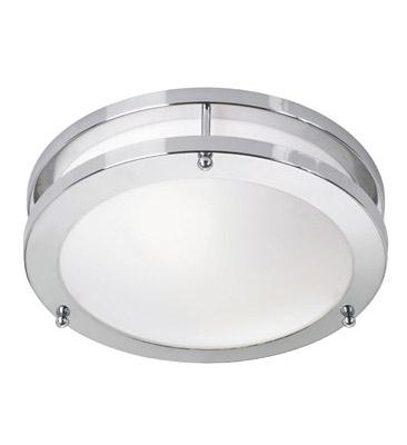 TABY LED Plafon króm / fehér