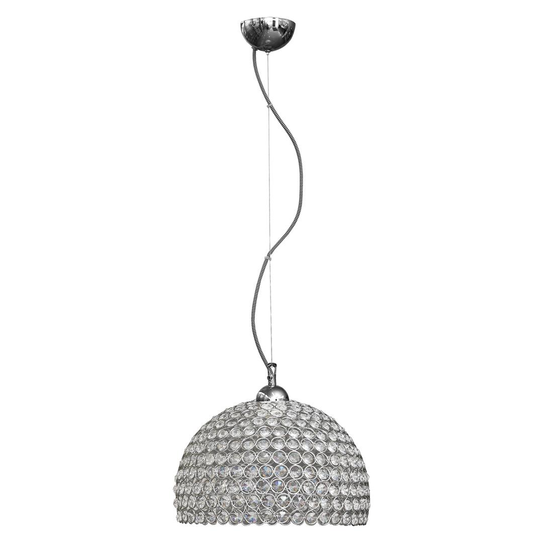 Függő lámpa Prima 1 króm 300