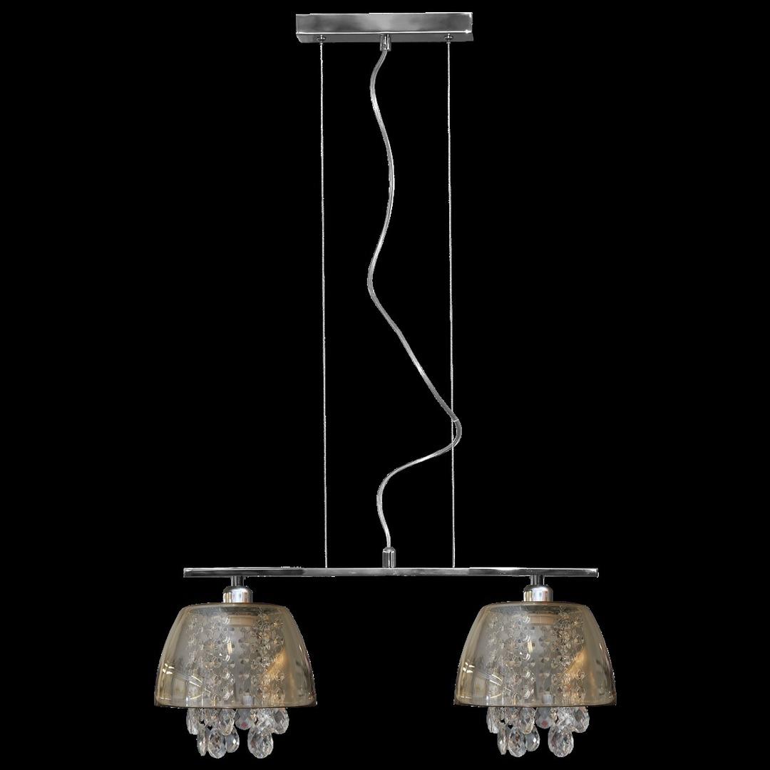 Ronin Crystal 2 grafit függő lámpa