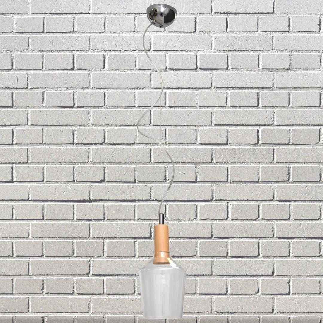 Üveg 160 függő lámpa