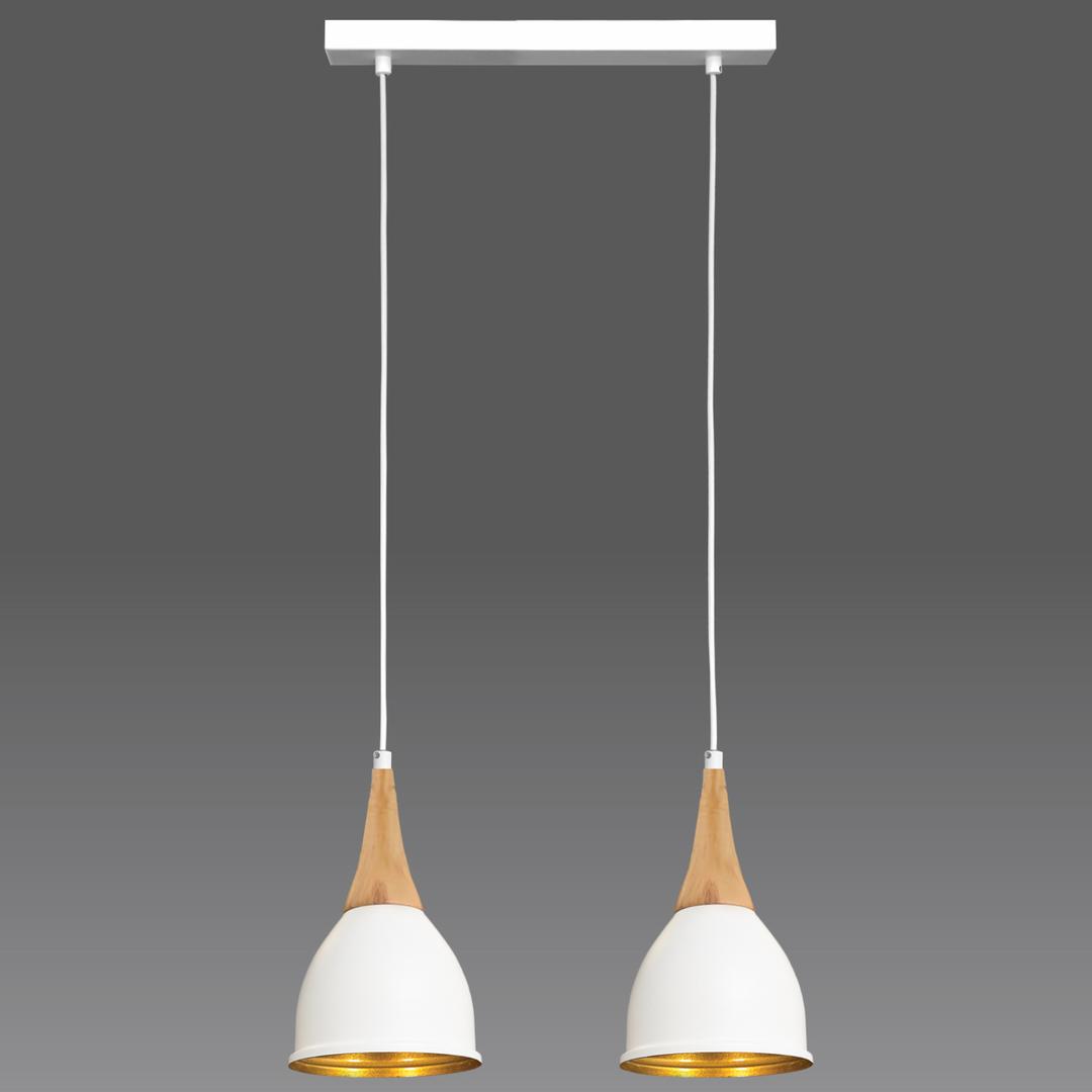 Fehér Aria függő lámpa 2