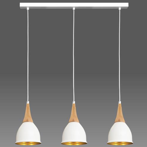 Fehér Aria függő lámpa 3