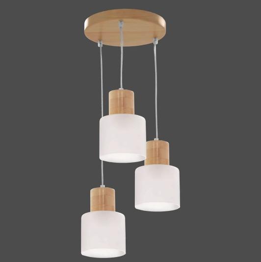 Függő lámpa Daisy 3 kerék