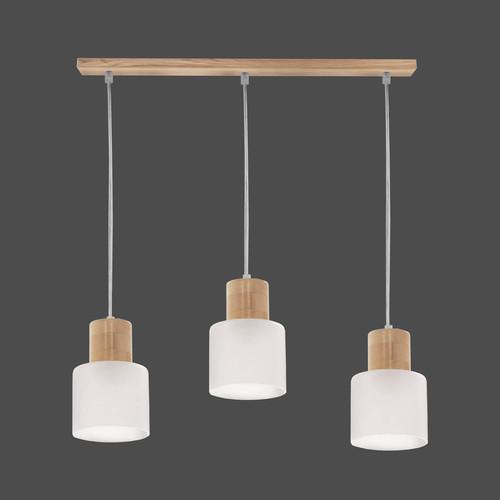 Függő lámpa Daisy 3 szalag