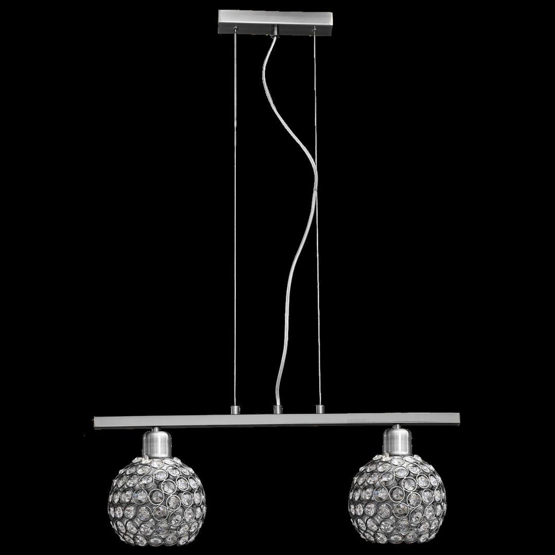 Függő lámpa Prima 2 króm