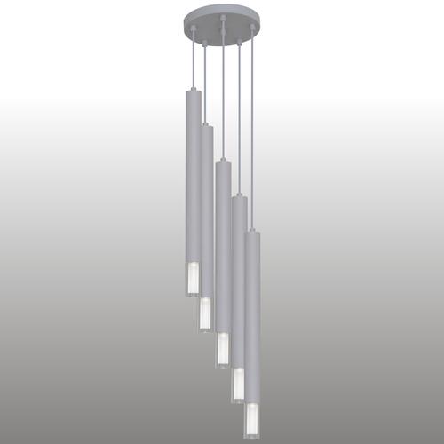 Szürke Kuga függesztett lámpa 5 XL