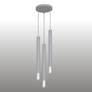 Szürke Kuga 3 XL függő lámpa small 1
