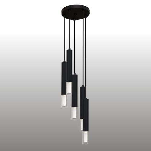 Fekete Kuga függő lámpa 5 M