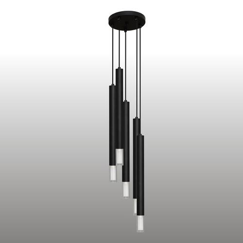 Fekete Kuga 5 XL függő lámpa