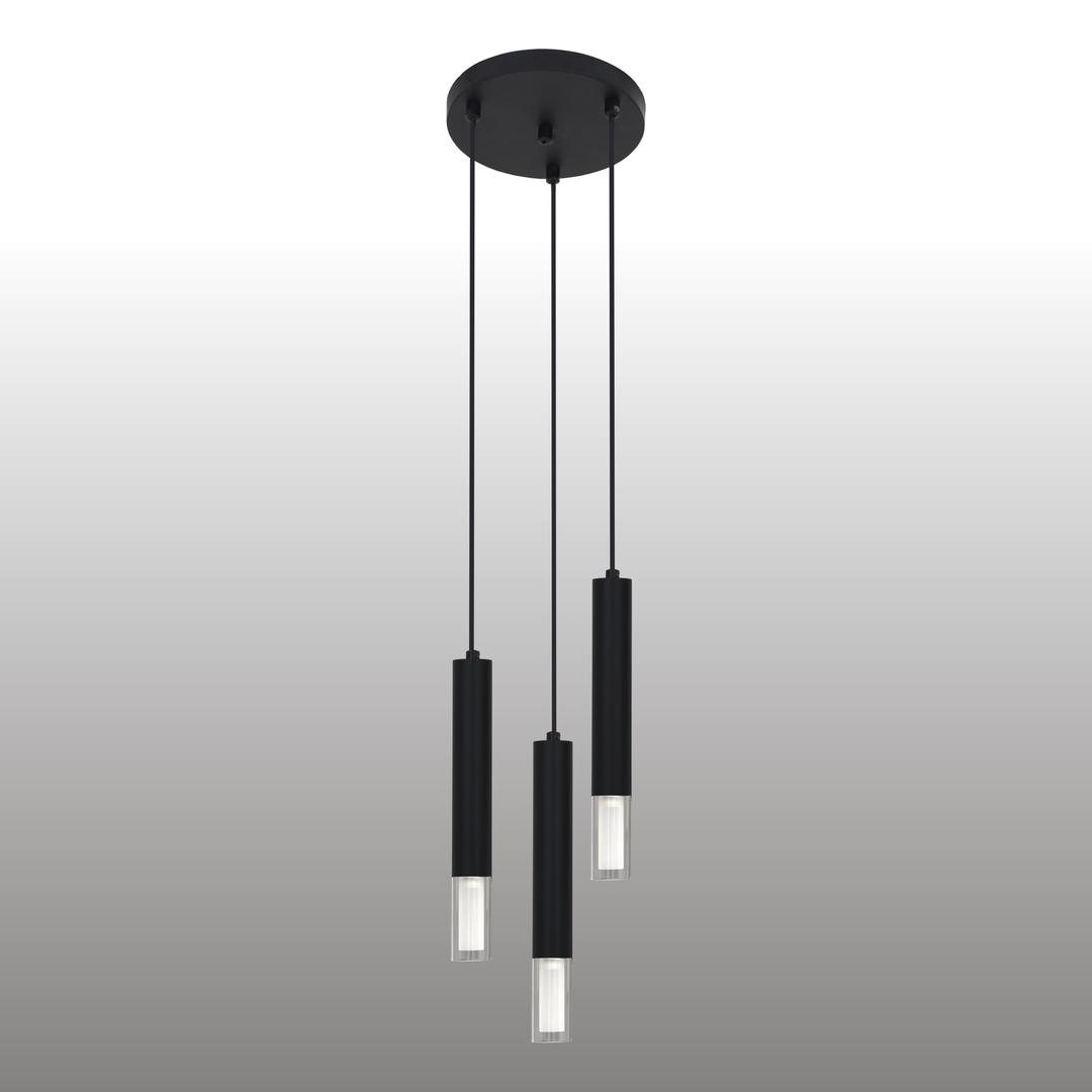 Fekete Kuga függő lámpa 3 M