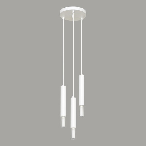 Fehér Kuga függő lámpa 3 M