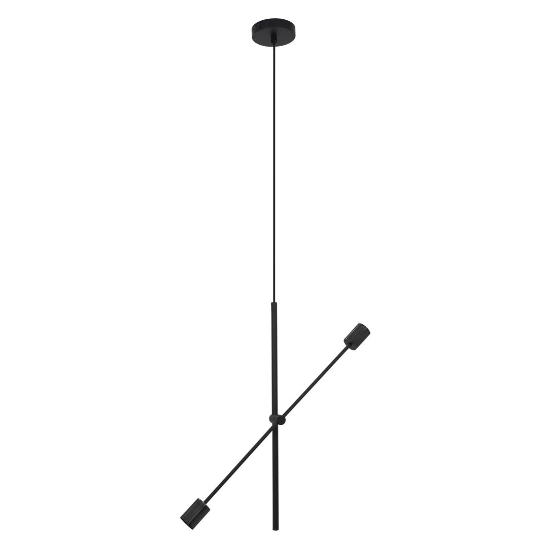 Fekete rotor lógó lámpa 2