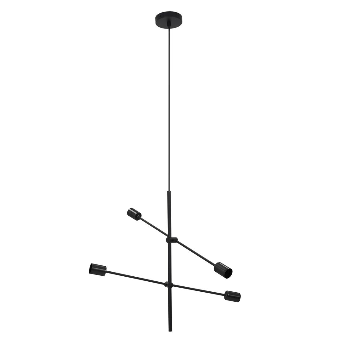 Fekete rotor lógó lámpa 4