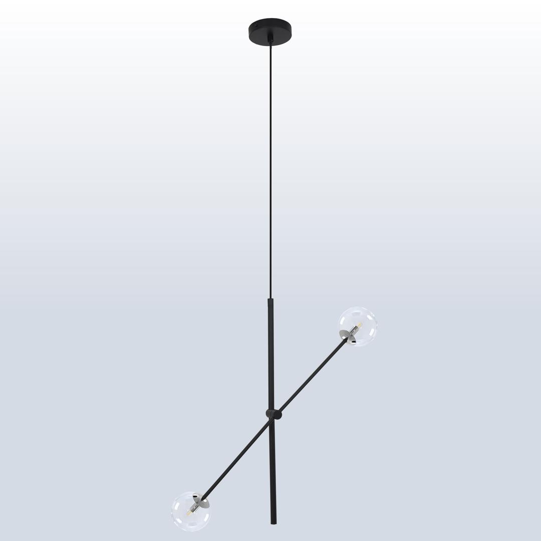 Függő lámpa Rotor 2 világos árnyék