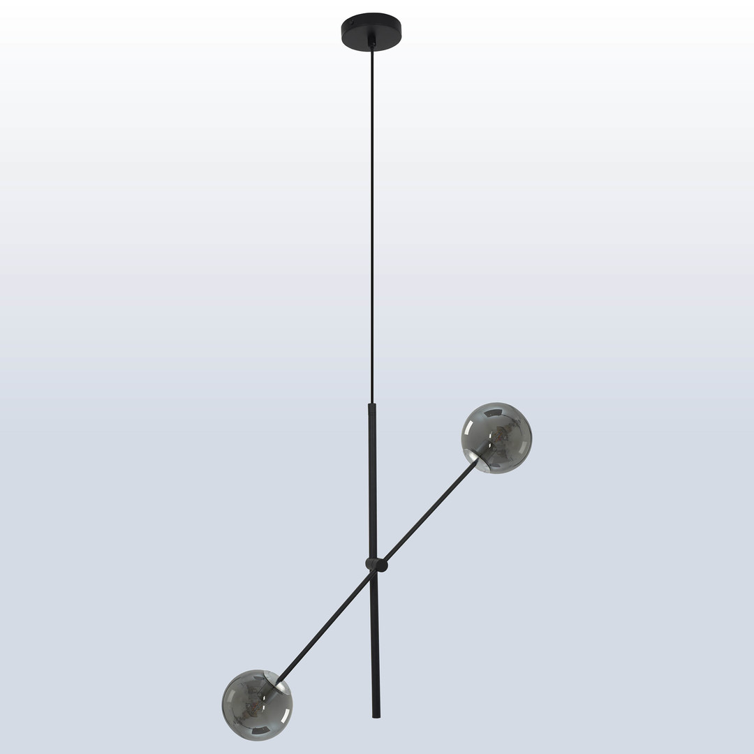 Függő lámpa Rotor 2 sötét árnyék