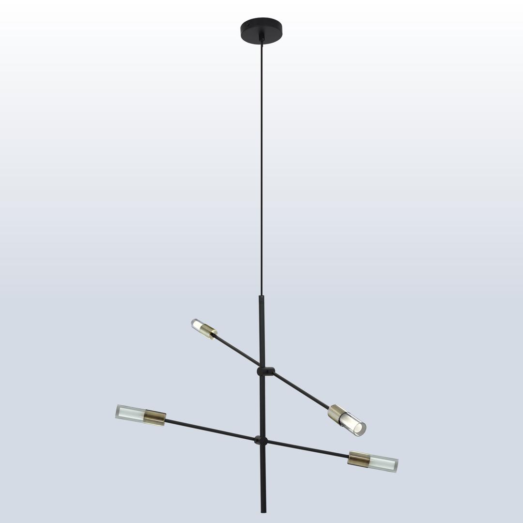 Függő lámpa Rotor 4 patina