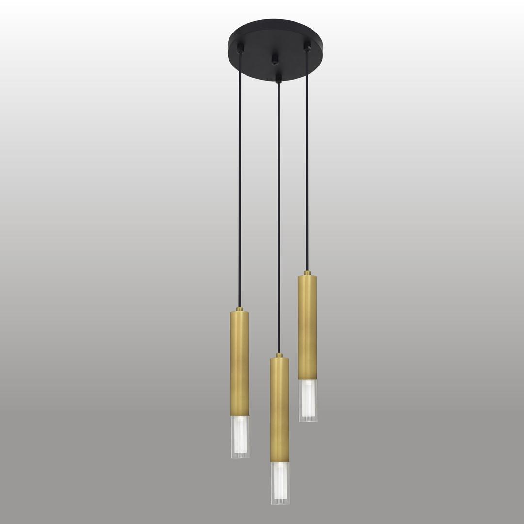 Függő lámpa Kuga 3 M patina szalag