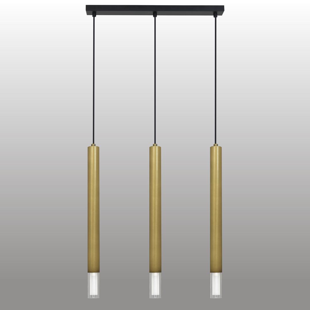 Függő lámpa Kuga 3 Xl króm szalag