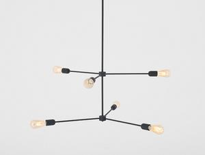 Medállámpa Loft TRISO 6 - fekete small 0