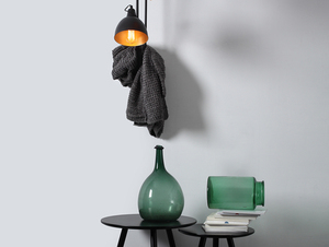 COBEN WALL 2 fali lámpa - fekete small 1