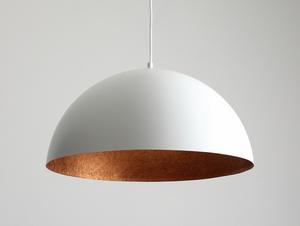 Lógó lámpa LORD 50 - rézfehér small 0