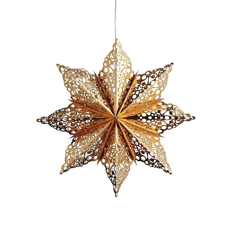 MÄRTA Medál papírcsillag 60cm