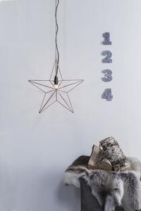 TJUSA Álló dekoráció 42cm E14 Réz small 1