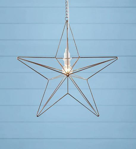 TJUSA Álló dekoráció 42cm E14 Réz