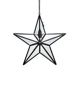 ANSGAR Glass Star 50CM fekete small 1