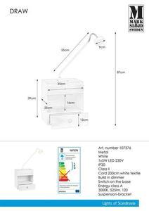 DRAW 1L fehér lámpa small 0