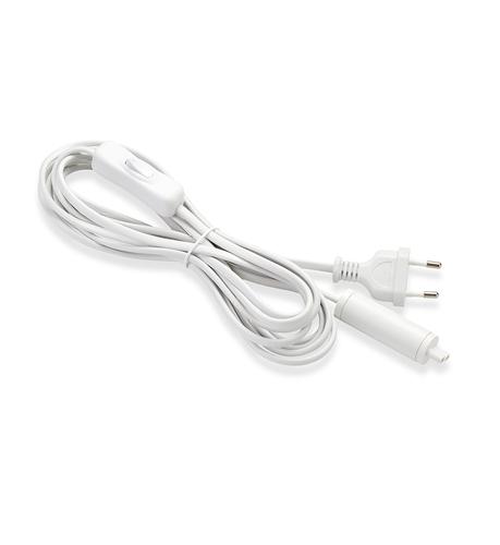 EXPAND Start kábel 3,5 m-es fali csatlakozó + kapcsoló fehér