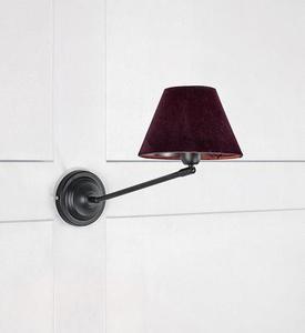 GARDA fali lámpa 1L fekete / lila small 1