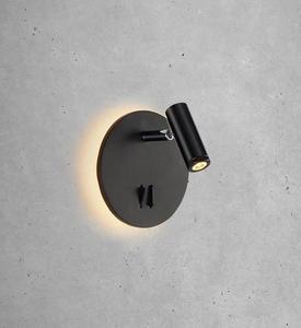 PALMA 2L fali lámpa fekete small 1