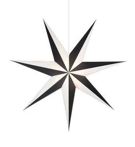 ALVA Star medál 1m fekete-fehér small 1