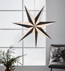 ALVA Star medál 1m fekete-fehér small 0
